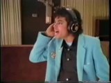 Michael Recording We Are Here To Change The World And Working On Another Part Of Me